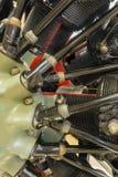 Авиационный двигатель поршеня Стоковое фото RF