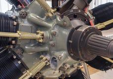 Авиационный двигатель поршеня Стоковые Изображения RF