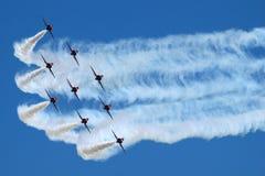 авиационный парад Стоковые Фото