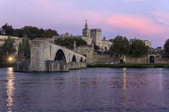 ` Авиньон - Авиньон - Франция Pont d Стоковое Изображение
