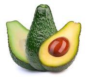 авокадоы изолировали 3 Стоковые Изображения