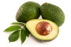 авокадо зрелый Стоковое Изображение RF