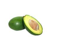 авокадо изолировал Стоковое фото RF