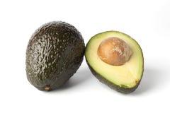 авокадо половинное одно Стоковое Изображение