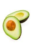 авокадо halved Стоковая Фотография RF