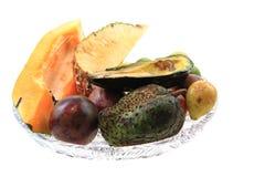 авокадо passionfruit annona папапайи Стоковое фото RF