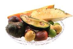 авокадо passionfruit annona папапайи Стоковое Фото