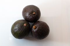 3 авокадоа Стоковые Фото