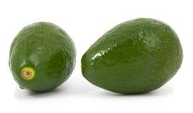 авокадоы изолировали зрелые 2 Стоковые Фото