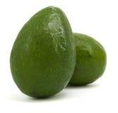 авокадоы изолировали зрелые 2 Стоковая Фотография RF