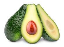 авокадоы изолировали 3 Стоковое фото RF