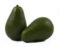 Авокадо изолированный над белизной Стоковое Фото