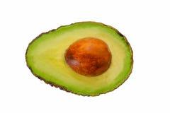 Авокадо на белизне Стоковое Фото