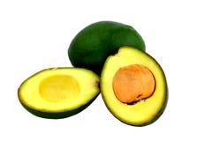 Авокадо на изолированный Стоковое фото RF