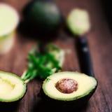 Авокадо/плодоовощ авокадоа/уменьшанный вдвое авокадо Стоковые Фото