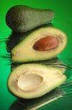 авокадо 2 влажный Стоковые Изображения