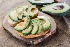 Авокадо sandvish Стоковое Изображение RF