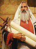 Авраам держа перечень стоковое фото