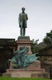 Авраам Линкольн в Эдинбурге, Шотландии Стоковое фото RF
