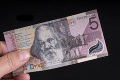 Австралийская банкнота Стоковое Изображение RF