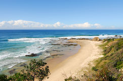 австралийская береговая линия Стоковое фото RF