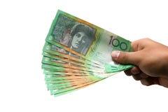 австралийская валюта Стоковая Фотография RF