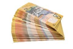 австралийская валюта Стоковые Фотографии RF