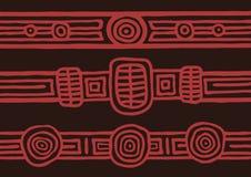 австралийская картина иллюстрация вектора