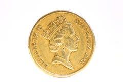 австралийская монетка Стоковая Фотография