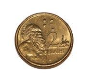 австралийская монетка Стоковые Изображения RF