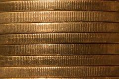 Австралийская предпосылка монетки Стоковые Фотографии RF
