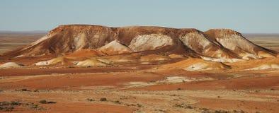 австралийская пустыня Стоковая Фотография