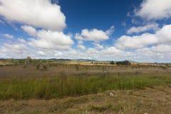 Австралийская территория захолустья к северу от Rockhampton, Квинсленда, Australai стоковые изображения