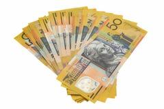 австралийские деньги Стоковые Изображения