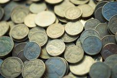 австралийские монетки Стоковое Фото