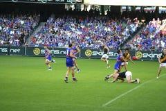 австралийские правила футбола Стоковое Фото