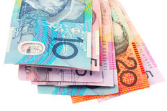 австралийские деньги Стоковое фото RF