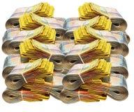 австралийские деньги Стоковая Фотография RF