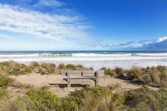 Австралийский берег пляжа Стоковая Фотография