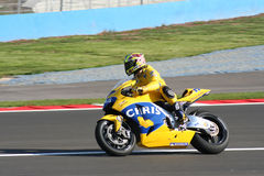австралийский гонщик chris vermeulen Стоковые Изображения RF
