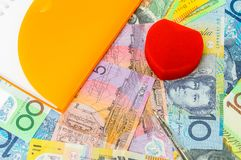 австралийский доллар Стоковое Фото