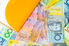 австралийский доллар Стоковая Фотография