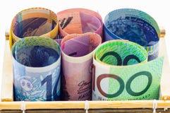 австралийский доллар Стоковые Изображения