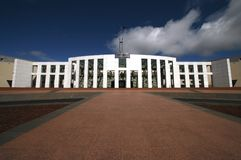 австралийский парламент дома Стоковые Изображения RF