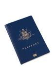австралийский пасспорт Стоковое Изображение