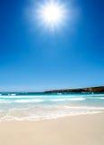 австралийский пляж стоковая фотография rf