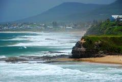 австралийский пляж Стоковая Фотография