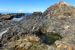 Австралийский пункт Hallidays береговой линии стоковая фотография rf