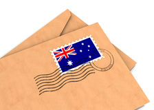 австралийский столб Стоковое Изображение RF