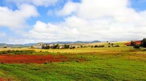 австралийское сельскохозяйственное угодье Стоковое Изображение RF